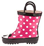 Chatties Toddler Girls Printed Rainboot (9-10 M US Toddler, Panda)