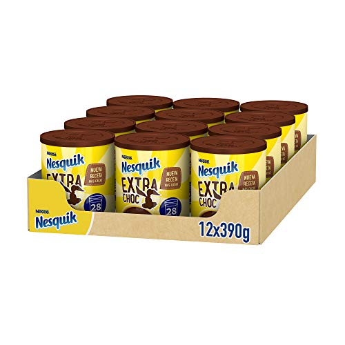 Nestlé Nesquik cacao soluble instantáneo Extra Choc, pack