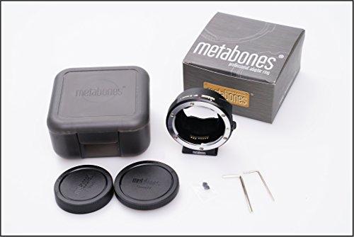 METABONES製 ソニーSONY Eマウント用電子接点付 SMART ADAPTOR MARK IV VER 4 キャノンEFアダプタ VG900 A7R A7 対応 【並行輸入品】