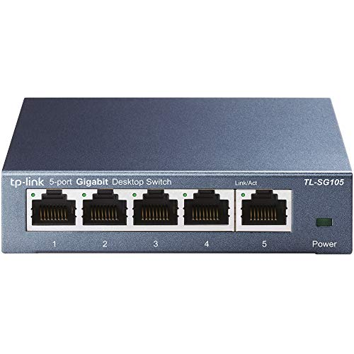 TP-Link TL-SG105 Switch 5 Porte Gigabit,...