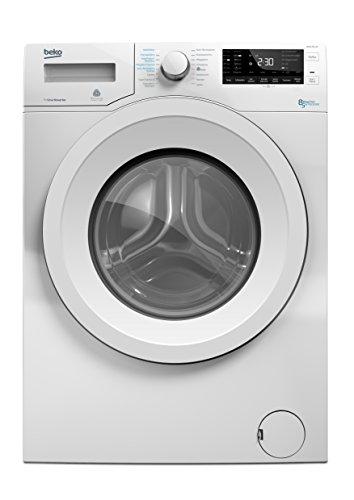 Beko WDW 85140 Waschtrockner/1088 kWh/8 kg Waschen/5 kg Trocknen/Aquawave-Schontrommel/Mengenautomatik/Watersafe