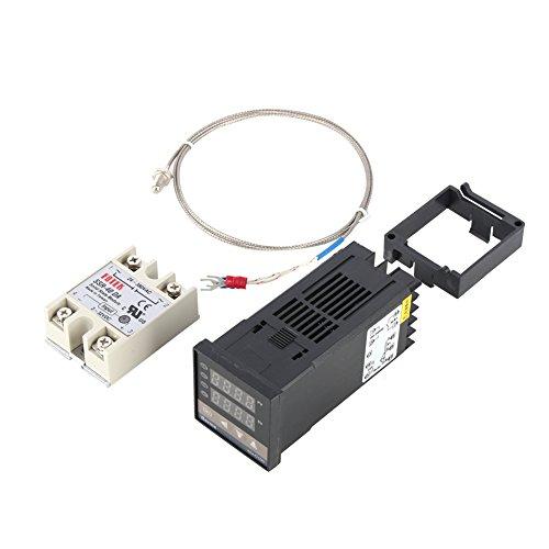 0 ~ 400 Allarme REX-C100 Digitale Intelligente termostato LED PID regolatore di Temperatura Kit AC110V-240V