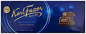 Fazer Milk Chocolate The luxurious taste of Karl Fazer milk chocolate is the perfect accompaniment to any moment. Made from fresh milk, Karl Fazer milk chocolate is Finland's most loved chocolate brand ? and for good reason! 4 bars of 200g