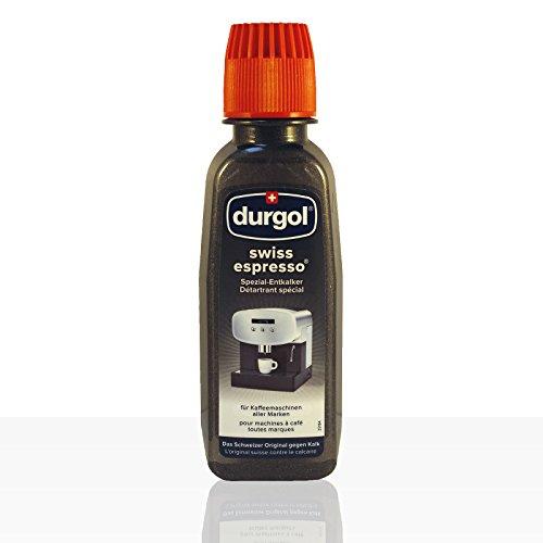 Durgol Swiss Espresso Descalcificador Especial, 2 Packs, 4 x 125ml