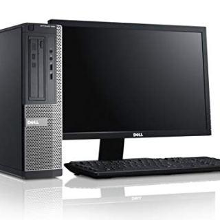 (Renewed) Dell Optiplex 17 inch (43.18 cm) All in One Desktop Set ( Intel i3 2330M, 8GB, 1TB HDD ,17 inches HD Monitor, Keyboard, Mouse, Wifi, Display Port) Windows 10 Pro, MS Office