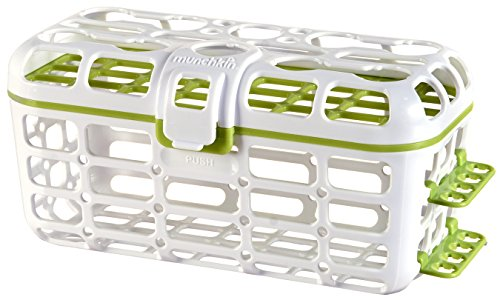 Munchkin | Deluxe Dishwasher Basket | Rechthoekig | Plaats voor 8 flessen