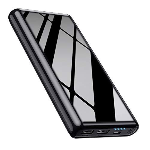 Feob [Cool Brillant Noir] Batterie Externe 26800mah Haute Capacité Power...