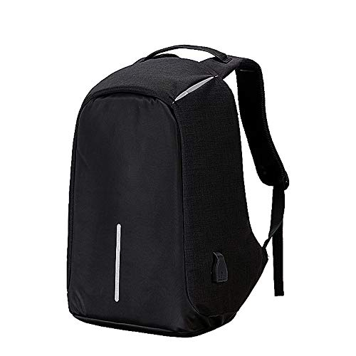 Laptop Backpack Business Waterproof Anti-theft USB Charging Port Suitable 15.6""