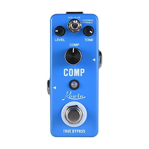Guitar Effect Pedal COMP Compressor Compress Guitar Pedal Aluminum Alloy Shell True Bypass Guitar Parts & Accessories