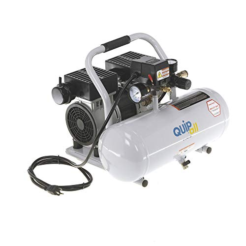 Quipall 2-1-SIL-AL Oil Free and Silent Compressor