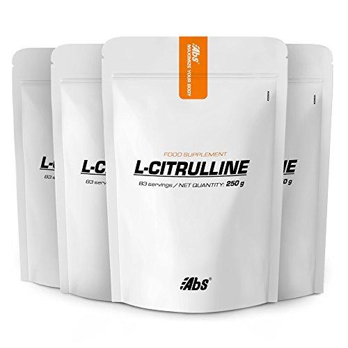 L-CITRULINA EN POLVO OFERTA 3+1 GRATIS | 332 raciones / 1 Kg | Circulación, Rendimiento deportivo (dolores musculares) | Fabricado en Francia