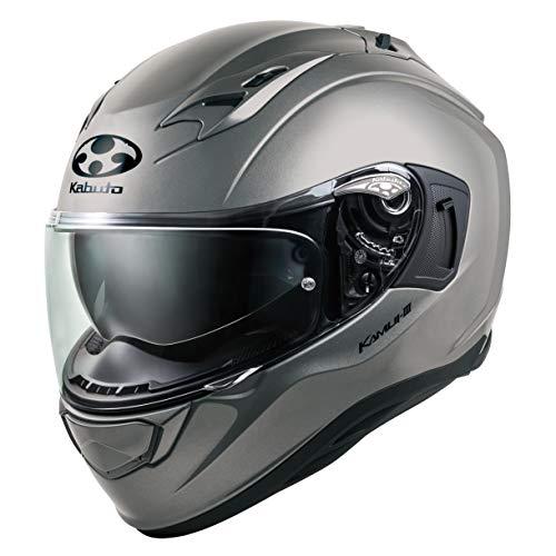 オージーケーカブト(OGK KABUTO)バイクヘルメット フルフェイス KAMUI3 クールガンメタ (サイズ:XS) 584757