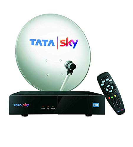 TATA SKY HD Connection with 1 month basic package and free installation