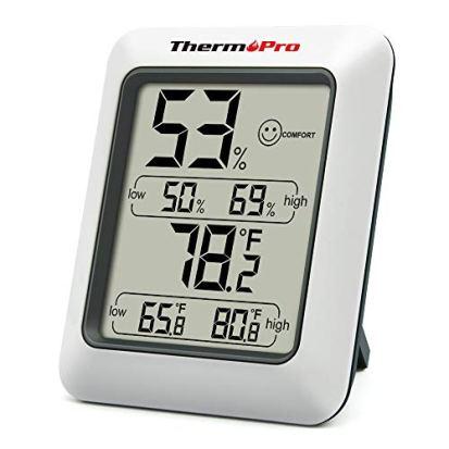 Digital Hygrometer Indoor Thermometer Room
