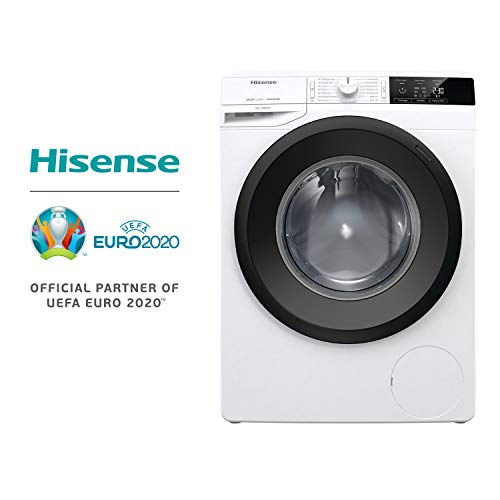Hisense WFGE7012V Lavatrice freestanding a carica frontale, Capacit 7 Kg, Classe energetica A+++,...