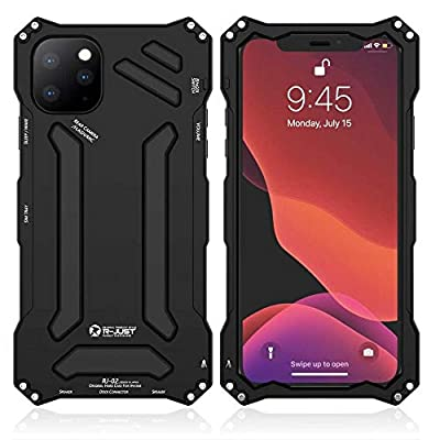 1.💦 Unique Design Case, Compatible with Apple iPhone 11 6.1 inch 2019 Release. 2.💦 Gorilla Glass+Metal frame+Silicon rubber+Carbon fiber hard case, give full protection to your phone. raised lip to protect phone webcam, Elegant construction and stitc...