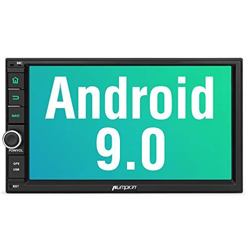 PUMPKIN Android 9.0 Autoradio Radio mit Navi Unterstützt Bluetooth DAB + Android Auto WiFi 4G USB...