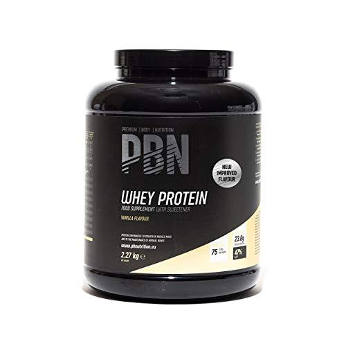 PBN Premium Body Nutrition Proteína de suero de leche en polvo, 2.27...