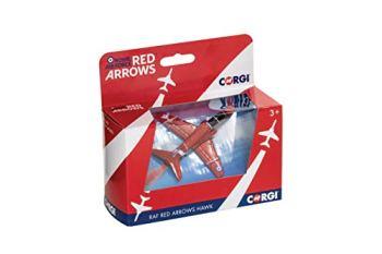 Corgi CS90628 RAF Red Arrows Hawk (Boxed in Red Arrows packaging)
