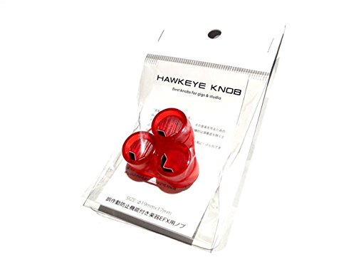 beatwalk ビートウォーク Hawkeye Knob (aura) 3個入りパック (transparent red x black) 【プレゼント】特別仕様の「D.A-Booster フルアーマーRED」「D.A-Line改」をゲットしよう!D.A-Booster1800台突破記念キャンペーン開催!