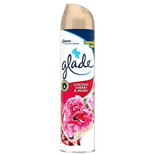 Glade (Brise) Duftspray, Luscious Cherry & Peony, Lufterfrischer Raumspray, 6er Pack (6 x 300 ml)
