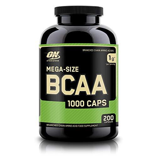 Optimum Nutrition BCAA 1000, Cápsulas BCAA, Suplementos Deportivos,...