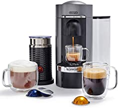Nespresso by De'Longhi VertuoPlus Deluxe Coffee and Espresso Machine Bundle with..