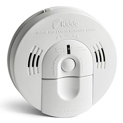 Kidde Smoke and Carbon Monoxide Detector Alarm with Voice Warning   Hardwired w/Battery Backup   Interconnectable   Model # KN-COSM-IBA