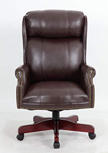 Halter PU Leather Executive Office Chair...