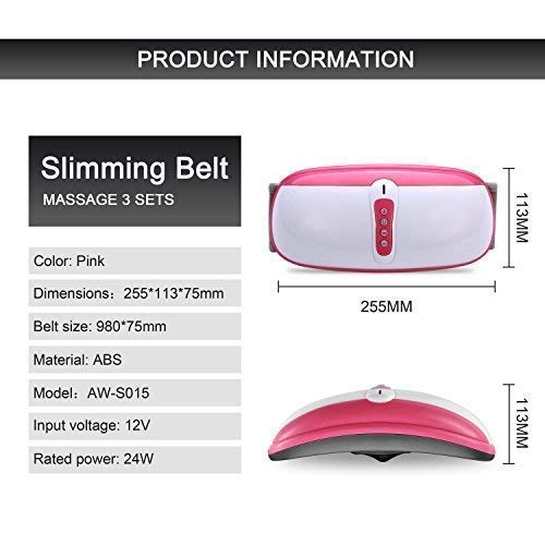 ZEROVIDA Intelligent Electric Massager for Back Body Sculpting Slimming Belt for Arms,Tummy, Legs,Hip, Thigh 9