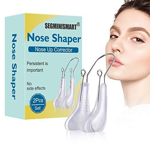 Naso Shaper Clip,Naso Up Lifting Shaping Shaper,Raschietto per naso in silicone,Nose Up Lifting Shaping Bridge Raddrizzamento Bellezza Dispositivo più morbido