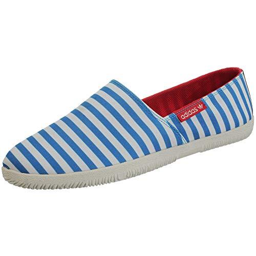 Adidas Adidrill - Alpargatas de lona para hombre , color Azul, talla 40 EU