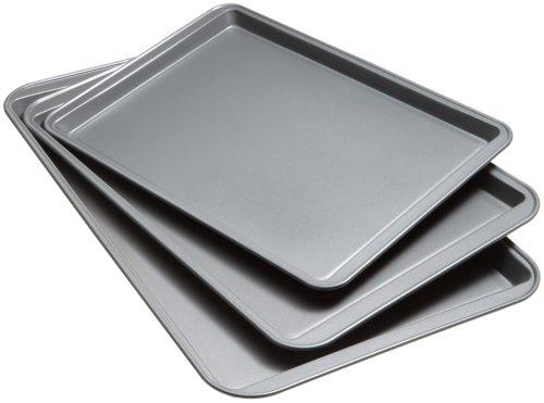 Goodcook Set Of 3 Non-Stick Baking Sheet