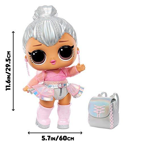 Image 4 - LOL Surprise Big BB (Big Baby) Kitty Queen - Grande Poupée 28cm, Déballez des Tenues, Chaussures, Accessoires, Comprend un Bureau, une Chaise et une Toile de Fond - 3 ans et plus