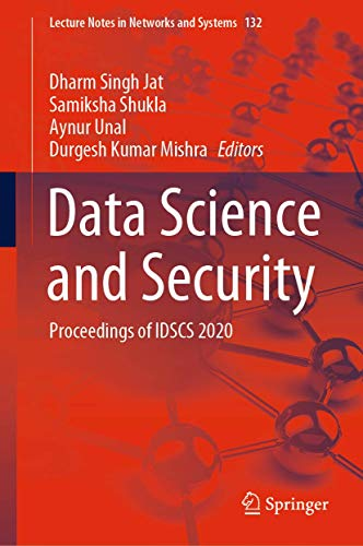 Data Science and Security: Proceedings of IDSCS 2020: 132