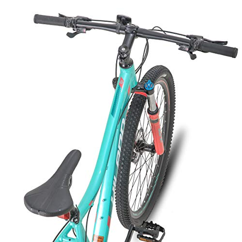 Product Image 3: Hiland 27.5 Inch Mountain Bike 24Speed MTB Bicycle for Women 16.5 Inch with Suspension Fork Urban Commuter City Bicycle Mint Green
