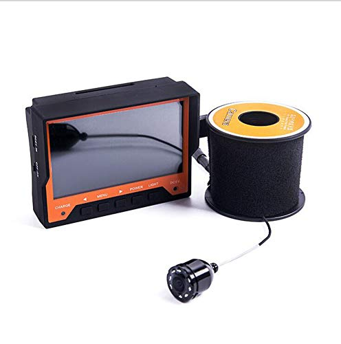AIURBAG 15m Fish Finder Video Telecamera Subacquea per la Pesca con Monitor LCD 4.3 pu Essere Indossata con Le Mani Macchina Fotografica per Pesca sul Ghiaccio
