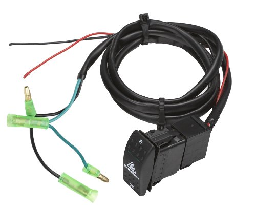 MotoAlliance VIPER ATV/UTV Winch Flush Mount Dash Switch