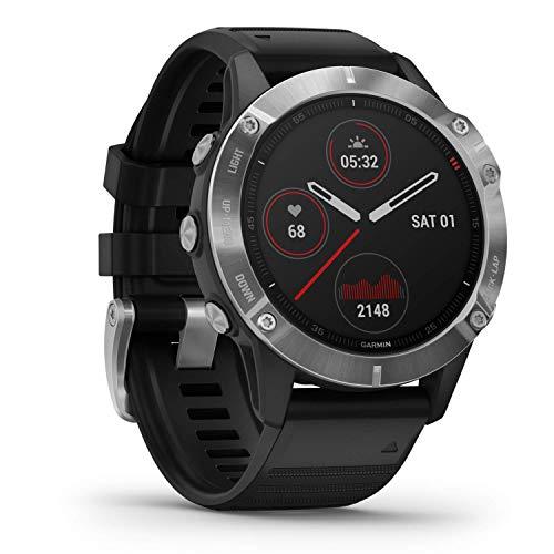 Garmin fēnix 6 - Reloj GPS multideporte definitivo con sensores,...