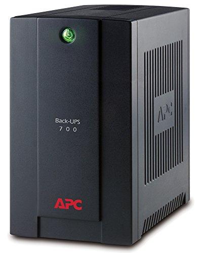 APC Back-UPS BX - BX700UI - Gruppo di continuità (UPS) Potenza 700VA (AVR, 4 Uscite IEC-C13, USB, Shutdown Software)