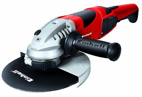 Einhell Winkelschleifer TE-AG 230/2000 (2050 W, Scheibe Ø 230 mm, Softstart, drehbarer Handgriff, Schutzhaube, ohne Trennscheibe)