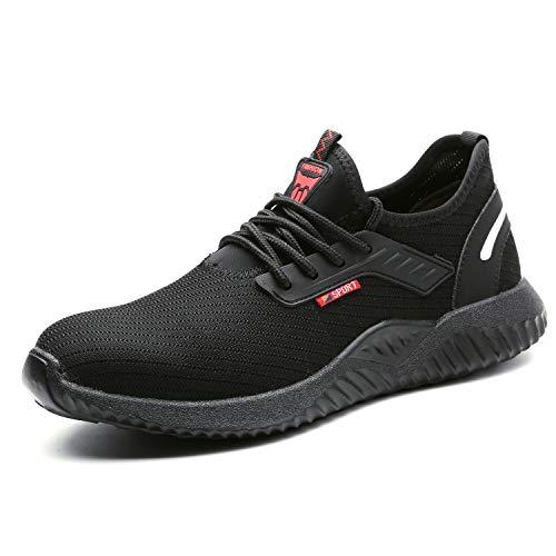 UCAYALI Zapatos de Seguridad con Punta de Acero para Hombre...