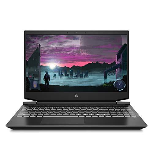 HP Pavilion Gaming 15.6-inch FHD Gaming Laptop (Ryzen 5-4600H/8GB/512GB SSD/Windows 10/144Hz/NVIDIA GTX 1650ti 4GB/Shadow Black), 15-ec1051AX