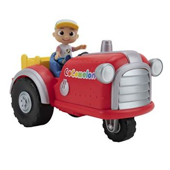 Cocomelon Musical Tractor with Sounds & Exclusive Farmer JJ Figure