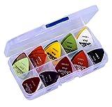 Astropick - Boîte de 40 médiators pour guitare électrique, acoustique,...