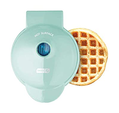"""MORE THAN WAFFLES: Make your favorite breakfast classics, or get creative with waffled hash browns, cookies and even biscuit pizzas! Any batter will """"waffle"""" into single serving portions. Great for families or on the go! MINI IS MIGHTY: With a 4"""" non..."""