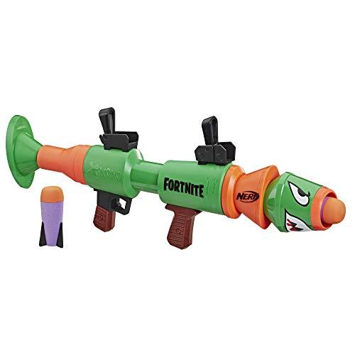 Hasbro E7511EU4 Nerf- Fortnite RL Blaster con Dardi, 2 razzi inclusi, Et consigliata 8 +, Multicolore
