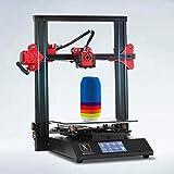 XINGTONGZHILIAN D3 Pro-S1 3D Printer Foldable FDM Printer Direct Drive Dual Z-axis Drive Volcano hot end Touch Screen TMC2208 Stepping 32-bit Board pre-Installed Glass Platform Φ1.75mm, 235x235x250m