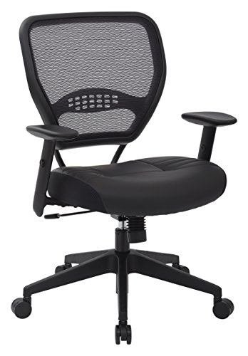 SPACE Seating Professional AirGrid Dark Back and...