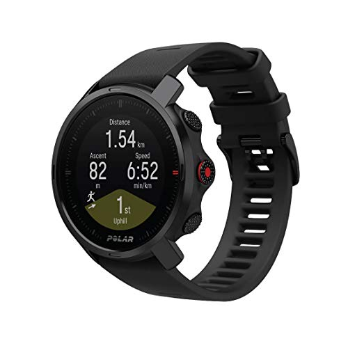 Polar Unisex's Grit X - Rugged Outdoor Watch with GPS, Compass, Altimeter and Military-Level Durability, Black, Medium/Large